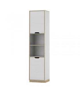 Happy 12 polcos szekrény, 46x41x126 cm