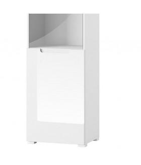 Selene 25 vitrin, 50*39*196 cm - fehér