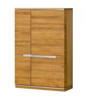 Torino 16 3 ajtós alacsony szekrény, 98x42x148 cm