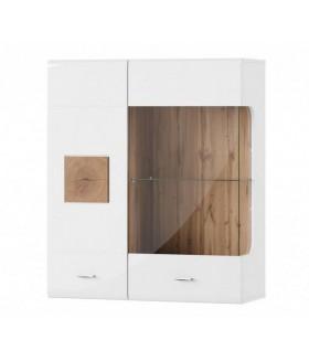 Wood 30 fali vitrin, 89x34x105 cm