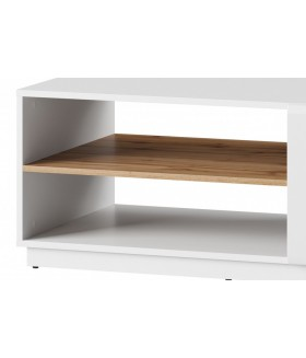 Wood 41 dohányzóasztal, 110x63x44 cm