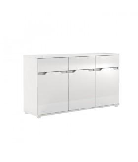 Adonis ASK6 komód, 149*42*86 cm - fehér