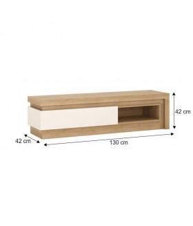 Leonardo F02 TV szekrény, 130*42*42 cm