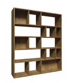 Alano 3 könyvespolc, 149x40x194 cm