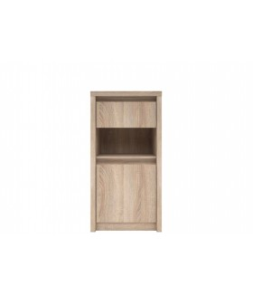 NORTY K1D1S 1 ajtós+1 fiókos komód, 46,5x40x92 cm