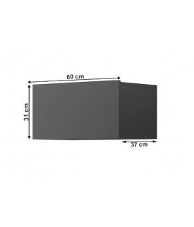 Spring ED60 fali szekrény, 60x37x31 cm - grafit
