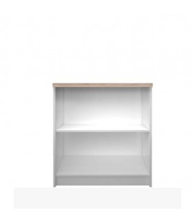 Topty Typ 16 alacsony nyitott polcos szekrény, 80x33x85 cm