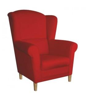 Charlot fotel, 86*72*105 cm - Alova piros